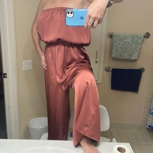Urban Outfitters Jumpsuit. Strapless. XL